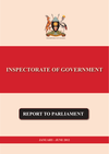 IG Report to Parliament  Jan-June 2012