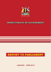 IG Report to Parliament Jan-June 2013